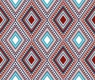 Nahtloses ethnisches Muster Stockbilder