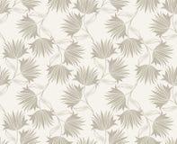 Nahtloses fantastisches Blumentapetendesign Lizenzfreie Stockbilder