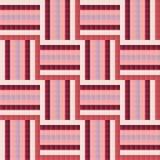 Nahtloses Fliese Ähnliches abstraktes geometrisches Musterdesign Lizenzfreie Stockfotografie