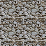 Nahtloses Fliesemuster einer Steinwand Stockbilder