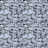 Nahtloses Fliesemuster einer Steinwand Lizenzfreies Stockbild