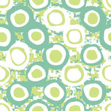 Nahtloses Frühlings-Wiese Camo Hintergrund-Muster Lizenzfreies Stockfoto