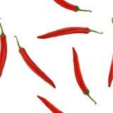 Nahtloses Gemüsemuster Stockfotografie