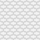 Nahtloses Geometrievektormuster auf weißem Hintergrund Lizenzfreies Stockbild
