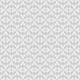 Nahtloses Geometrievektormuster im einfarbigen Hintergrund Stockbild