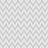 Nahtloses Geometriezickzackmuster im einfarbigen Hintergrund Stockfotografie