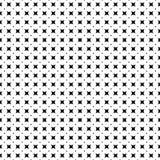 Nahtloses geometrisches abstraktes Muster mit Stern, Raute oder dem Blumenblumenblatt Auch im corel abgehobenen Betrag Lizenzfreie Stockfotos
