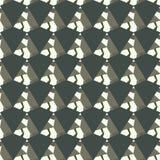 Nahtloses geometrisches Begriffshintergrundmuster für Design Vektor, Tapete, Hintergrund u. Details vektor abbildung