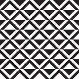 Nahtloses geometrisches Dreieckmuster stock abbildung