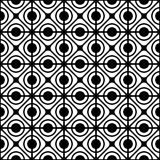Nahtloses geometrisches Gittermuster. Stockfotografie