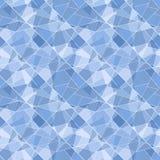 Nahtloses geometrisches glänzendes Muster des Vektors - abst Lizenzfreies Stockfoto
