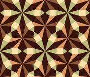 Nahtloses geometrisches Hintergrundmuster Lizenzfreie Stockfotografie