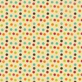 Nahtloses geometrisches Kreis-Hintergrund-Muster Lizenzfreie Stockbilder
