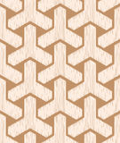 Nahtloses geometrisches Maschenmuster Lizenzfreies Stockfoto