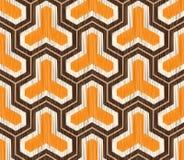 Nahtloses geometrisches Maschenmuster Lizenzfreie Stockbilder