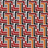 Nahtloses geometrisches Muster 01 Stockbild