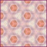 Nahtloses geometrisches Muster Lizenzfreies Stockfoto