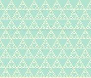Nahtloses geometrisches Muster Lizenzfreies Stockbild