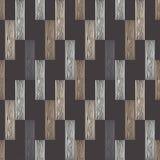 Nahtloses geometrisches Muster Boden mit hölzerner Beschaffenheit Gekritzelbeschaffenheit Stockfotos