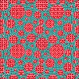 Nahtloses geometrisches Muster in der boho Art Boho-Motiv, abstrakt Stockbilder
