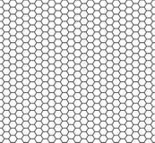 Nahtloses geometrisches Muster der sechseckigen Zellbeschaffenheit lizenzfreie abbildung