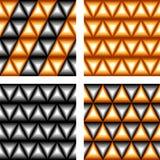 Nahtloses geometrisches Muster des Entwurfs Stockbilder