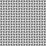 Nahtloses geometrisches Muster des Metalls oder der gesponnenen Faser Auch im corel abgehobenen Betrag Stockbild