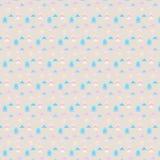 Nahtloses geometrisches Muster des Vektors mit Dreiecken Stockfotografie