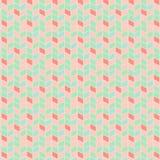 Nahtloses geometrisches Muster des Vektors mit Zickzacken Lizenzfreie Stockbilder