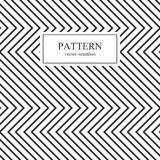 Nahtloses geometrisches Muster des Zickzacks Lizenzfreie Stockbilder