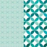 Nahtloses geometrisches Muster - Illustration Stockbild