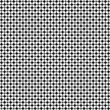 Nahtloses geometrisches Muster mit dem Blumenblatt der gerundeten Raute Auch im corel abgehobenen Betrag Stockbild