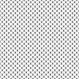 Nahtloses geometrisches Muster mit schuppigem Oval Auch im corel abgehobenen Betrag Lizenzfreie Stockbilder
