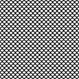 Nahtloses geometrisches Muster mit schuppigem Oval Auch im corel abgehobenen Betrag Lizenzfreie Stockfotos