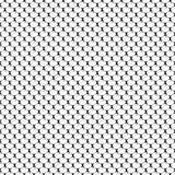 Nahtloses geometrisches Muster mit schuppigem Oval und Schatten Auch im corel abgehobenen Betrag Stockfotografie