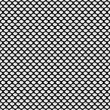 Nahtloses geometrisches Muster mit schuppigem Oval und Schatten Auch im corel abgehobenen Betrag Lizenzfreies Stockbild