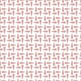 Nahtloses geometrisches Muster mit Tropfen Auch im corel abgehobenen Betrag Stockfotografie