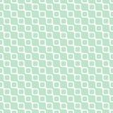 Nahtloses geometrisches Muster, schiefe Welle mit Kette auf hellgrünem Hintergrund, streift abstrakte Schablone, Vektorillustrati Stockbilder