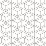 Nahtloses geometrisches Muster Vector nahtloses Muster Geometrisches b Stockbild