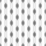 Nahtloses geometrisches Muster von schwarzen Streifen Stockbilder