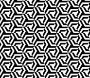 Nahtloses geometrisches Mustervektor-Hintergrunddesign Stockbild