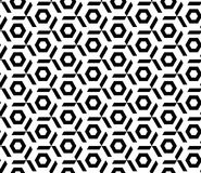 Nahtloses geometrisches Mustervektor-Hintergrunddesign Stockbilder