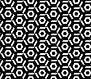 Nahtloses geometrisches Mustervektor-Hintergrunddesign Lizenzfreie Stockfotos