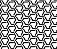 Nahtloses geometrisches Mustervektor-Hintergrunddesign Stockfoto