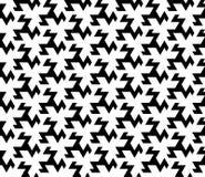 Nahtloses geometrisches Mustervektor-Hintergrunddesign Stockfotos