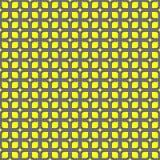 Nahtloses geometrisches Mustervektorzusammenfassungs-Hintergrunddesign von gebogenen Quadraten schloss wie Kette an und schuf Ell Lizenzfreies Stockfoto