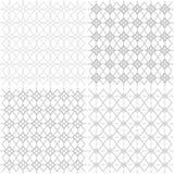 Nahtloses geometrisches openwork Muster - Illustration lizenzfreie abbildung