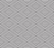 Nahtloses geometrisches Polygon-Design-Muster lizenzfreie abbildung