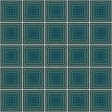 Nahtloses geometrisches quadratisches Muster Lizenzfreie Stockbilder
