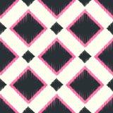 Nahtloses geometrisches quadratisches Muster Stockbild
